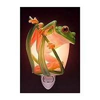 Ibis & Orchid Tree Frog Night Light # 50071