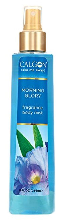 漏斗季節掃くCalgon Morning Glory Fragrance Body Mist カルゴン モーニンググローリー フレグランス ボディーミスト 236ml
