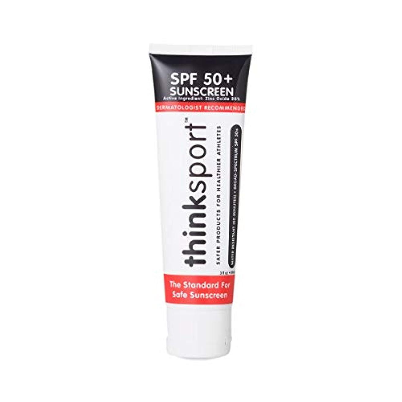 正しくペストリー心臓Thinksport Suncreen - SPF 50+ - 3 fl oz
