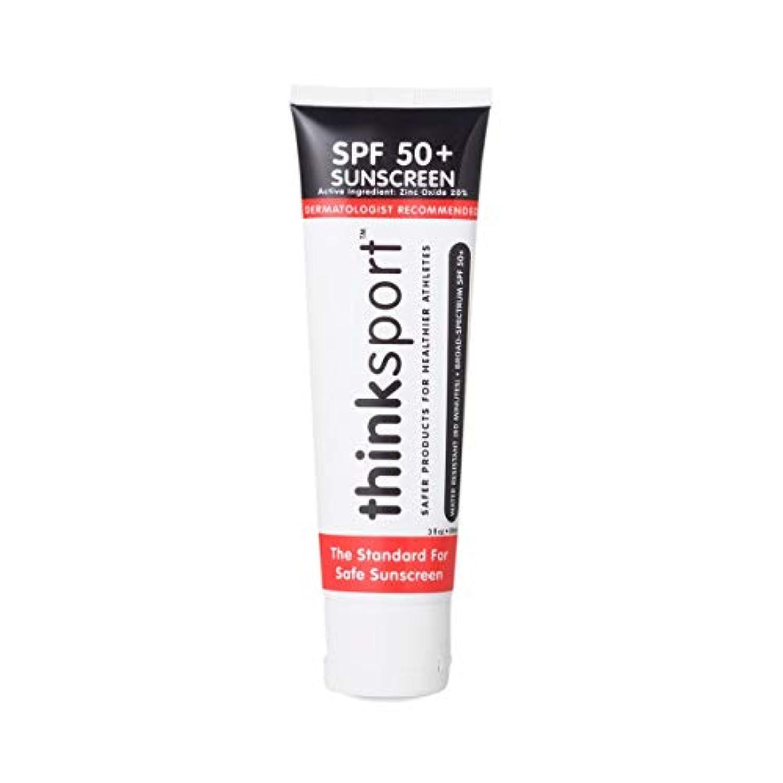 引き渡す引き潮それによってThinksport Suncreen - SPF 50+ - 3 fl oz