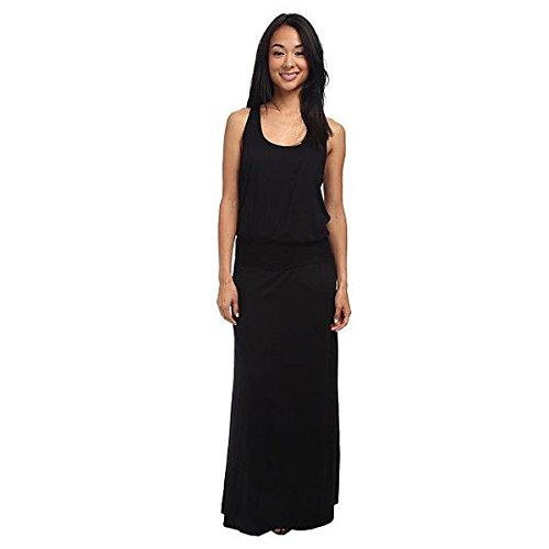 (スリードッツ) Three Dots レディース ドレス マキシドレス Visc Lycra Maxi Dress 並行輸入品