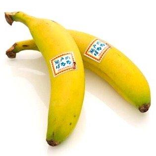 特秀 瀬戸内 バナナ 贈答用 2本入り化粧箱 岡山県産 無農薬 国産バナナ