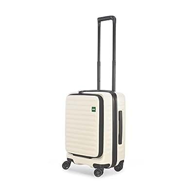 LOJEL ロジェール   CUBO-S ハードキャリー【48cm】   機内持ち込みスーツケース ホワイト (旅行用品)
