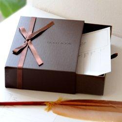 [해외]상자 형 카드 식 방명록 베르테 (체키 용 카드 80 장 포함) | 결혼식 | 방명록/Box type card formula name book Berthe (with 80 sheets for Cheki) | wedding | guest book