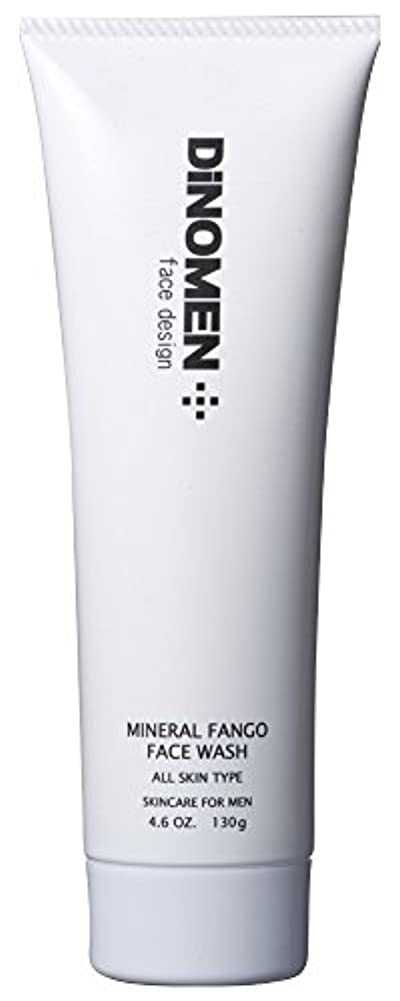 タール除去合計DiNOMEN ミネラルファンゴフェイスウォッシュ 130g 洗顔フォーム 男性化粧品