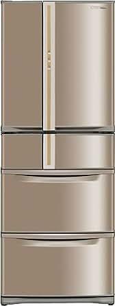 National トップユニット冷蔵庫 フレンチ6ドア495L ロゼステンレス NR-F500T-SR