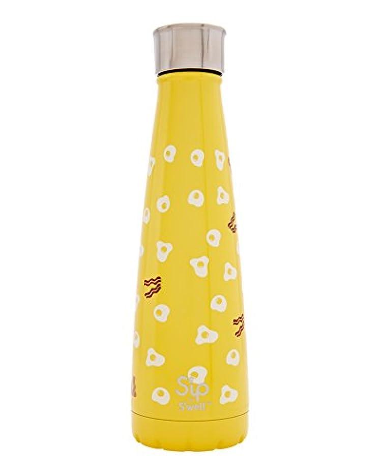 批判的にメイエラ虚偽S'ip by S'well Insulated, Double-Walled, Stainless Steel Water Bottle, 15 oz, Sunny Side by S'ip by S'well