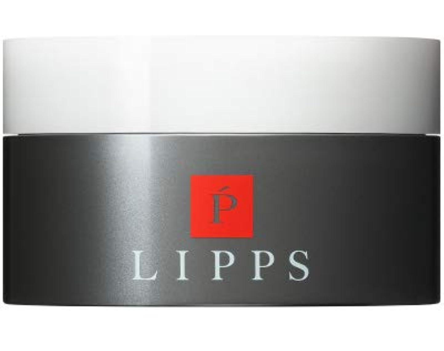 識字交差点することになっている【立ち上げ×シャープな束感】LIPPS L14フリーハードワックス (85g)