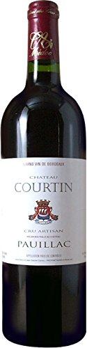 シャトー・クルタン[2007]Chateau courtin(赤ワイン)ボルドー ポイヤック 750ml                       ワイン倶楽部 秀友 赤ワイン  750mlx1