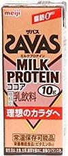 明治ブリック パック/ザバス ミルクプロテイン ココア味 2...