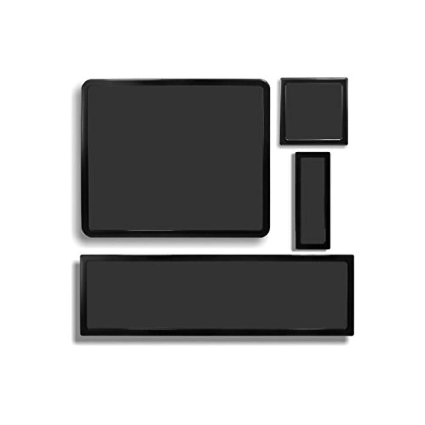 ラインナップジョイント反射DEMCiflexダストフィルタキットfor CaseLabs Merlin sm8 ( 4フィルタ、ブラックフレーム、ブラックメッシュ