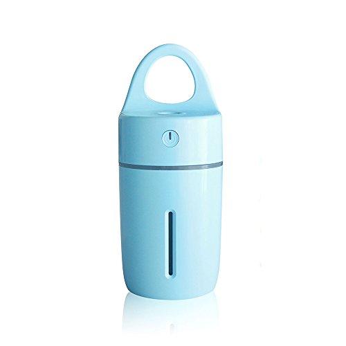 マジックカップ加湿器 7色LEDライト変換ポータブル インテ...