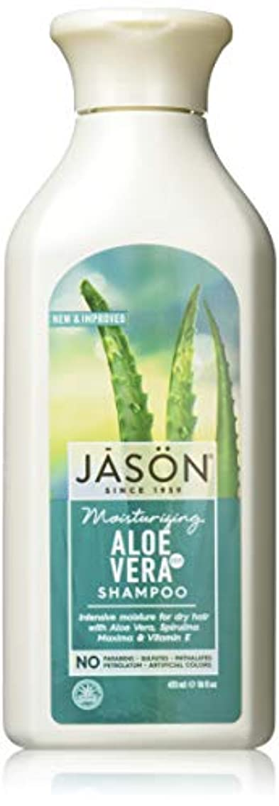 階段マガジン処理Jason Natural Products Aloe Vera Gel Shampoo 84% 473 ml (並行輸入品)