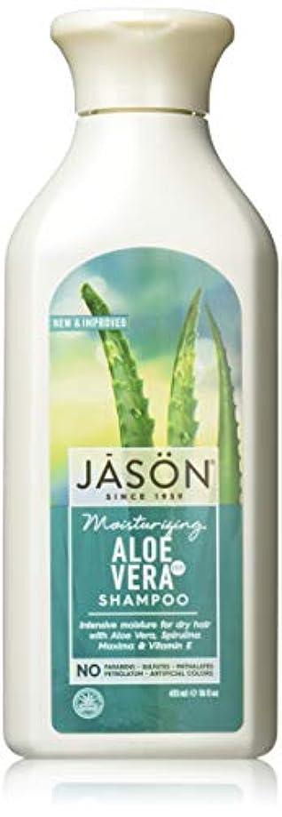 つば拘束する溢れんばかりのJason Natural Products Aloe Vera Gel Shampoo 84% 473 ml (並行輸入品)