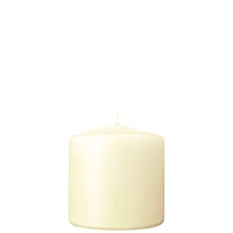 演劇スチュワーデスアクションkameyama candle(カメヤマキャンドル) 3×3ベルトップピラーキャンドル 「 アイボリー 」(A9730000IV)