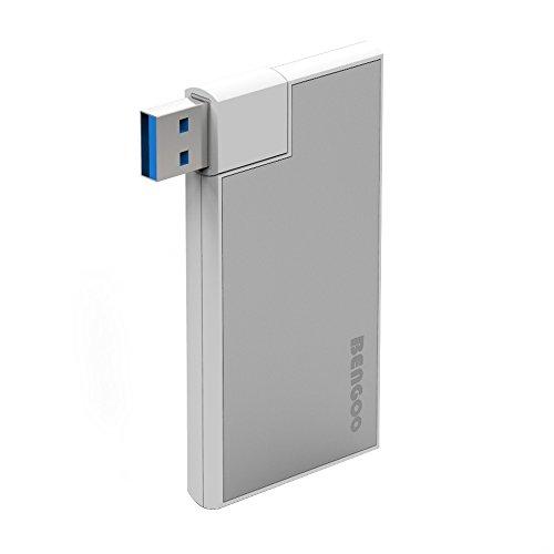 Bengoo USB3.0ハブ 4ポート 高速度 USB Hub Surface Ultrabooks MacBook タブレット対応 軽量・コンパクト