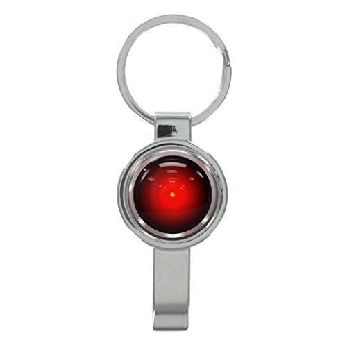 レッドロボットEyeキャップリムーバーキーリングwith Freeギフトボックス
