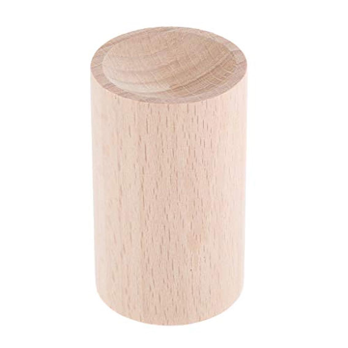 D DOLITY 天然木 ハンドメイド 手作り 空気清浄 エッセンシャルオイル 香水 アロマディフューザー 2種選ぶ - 01, 3.2cm