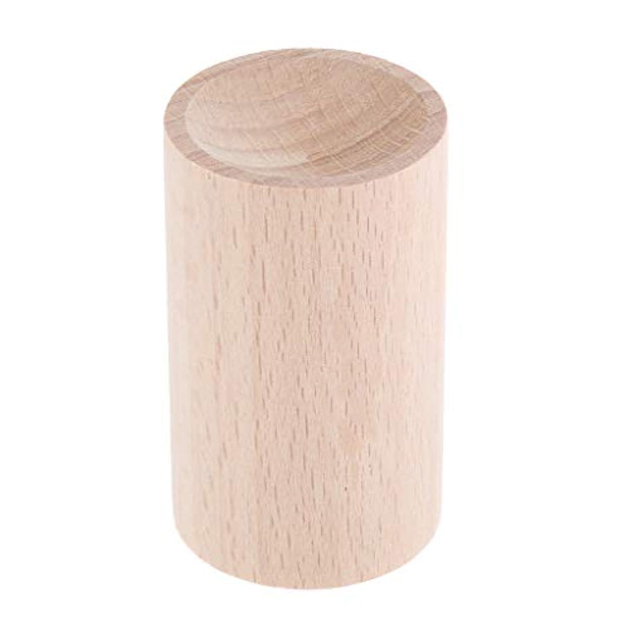準備ができて芽経歴D DOLITY 天然木 ハンドメイド 手作り 空気清浄 エッセンシャルオイル 香水 アロマディフューザー 2種選ぶ - 01, 3.2cm