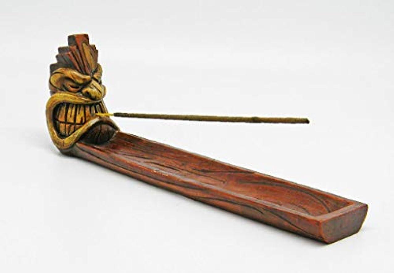 プラグお父さん電圧Angry Tiki Face Incense Burner – 10.25 by Burnies