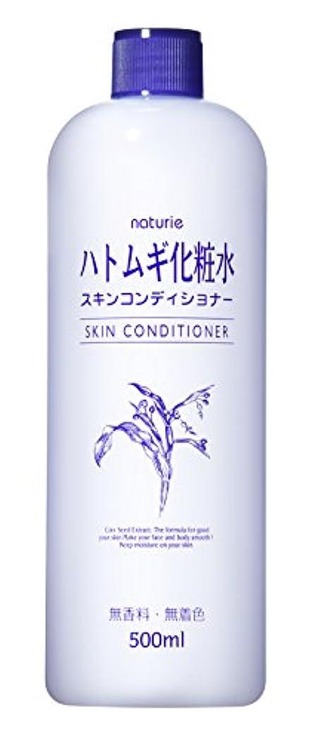 ハングパイプライン利用可能ナチュリエ スキンコンディショナー(ハトムギ化粧水)500ml