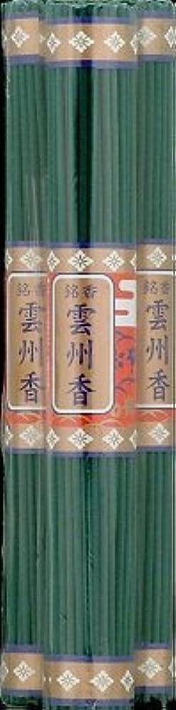 冷蔵庫理論舌日本香堂 銘香 雲州香 長寸 (3把入) 線香