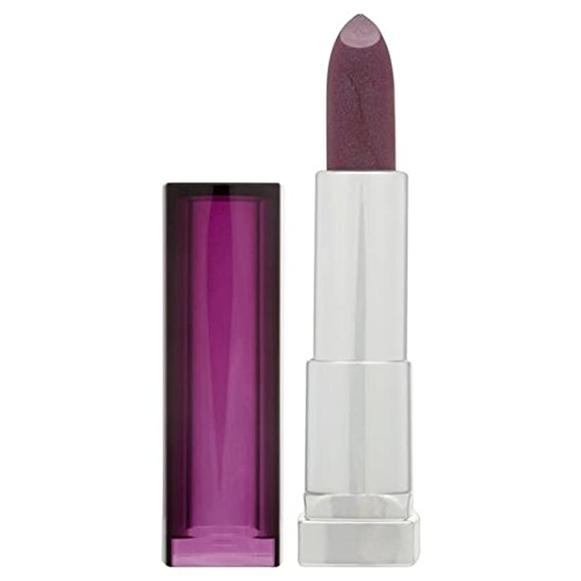 勃起筋文字Maybelline Lip Color Sensational, Mitternacht Plum 338 25g
