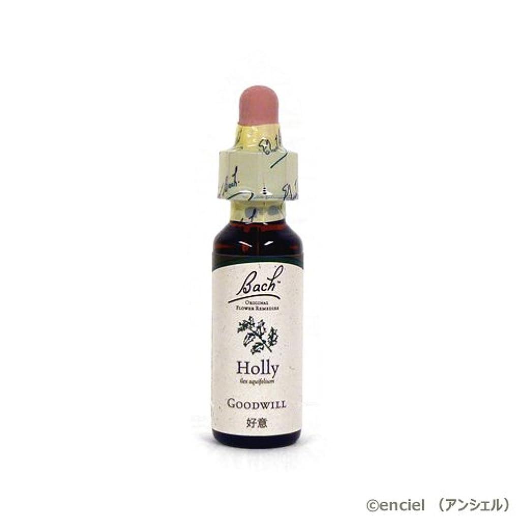 高齢者夜明け若者バッチフラワー レメディ ホリー 10ml グリセリンタイプ 日本国内正規品
