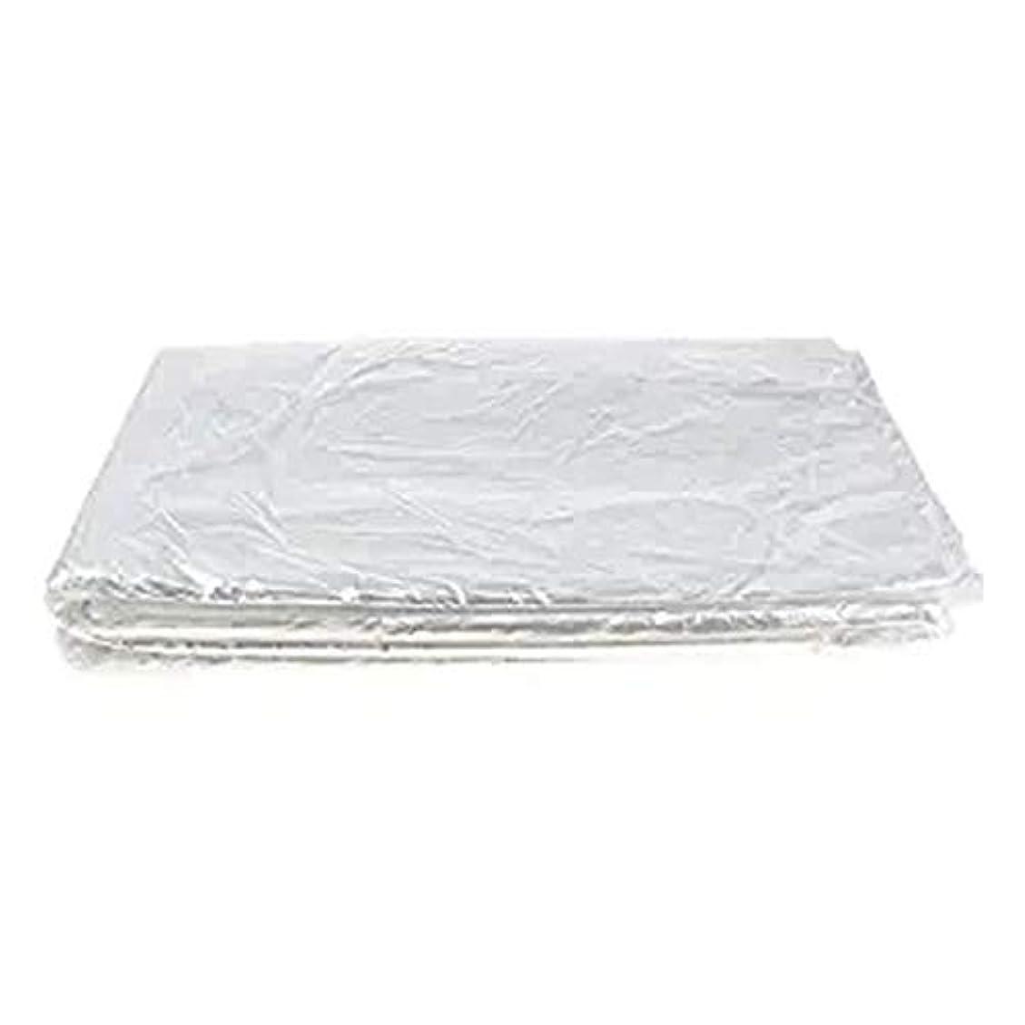 パラメータ粘土ネーピア200 x使い捨てケープヘアサロンショールプラスチック防水ヘアトリミングツール60 x 90 cm理髪店または家庭用