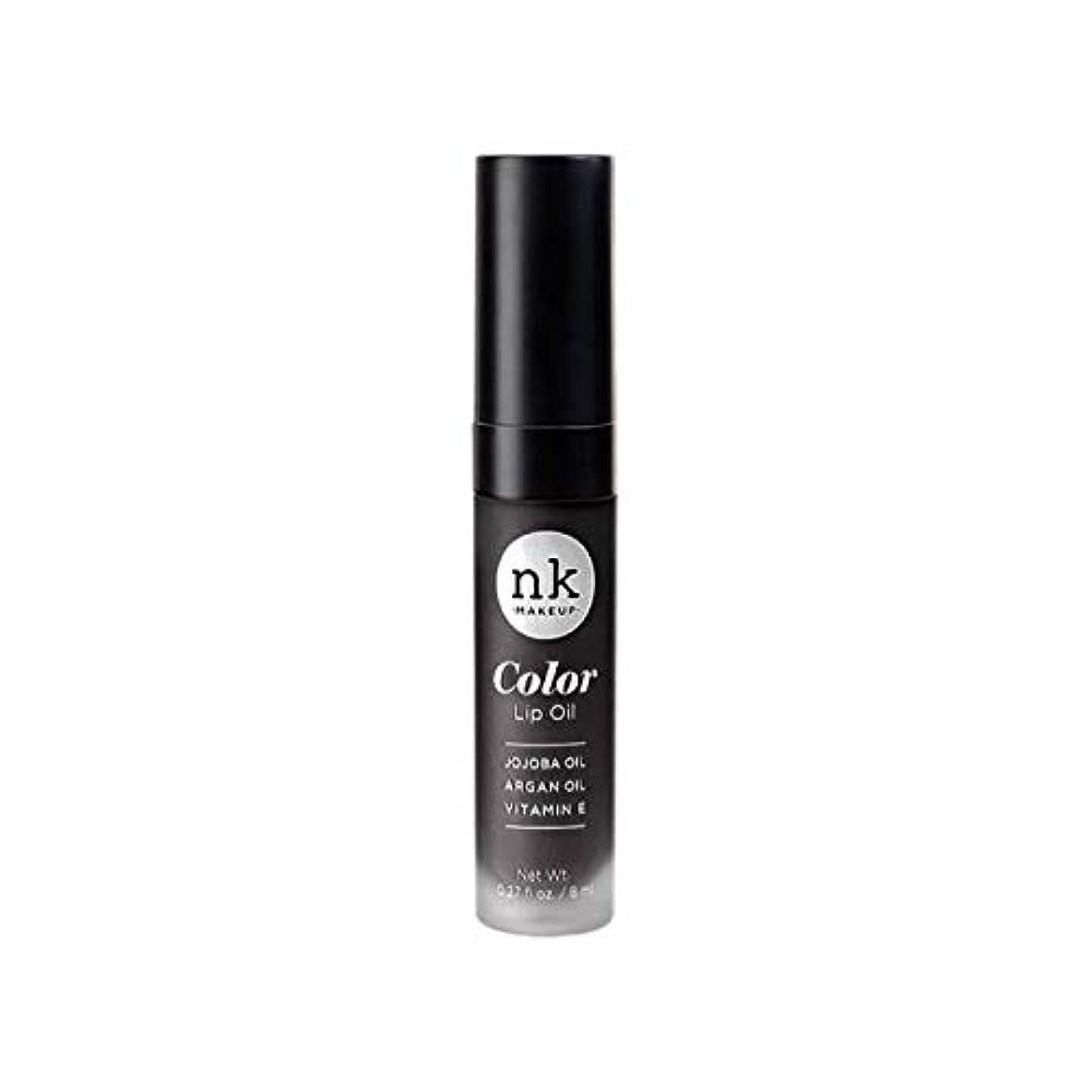 書誌試験伝統NICKA K Color Lip Oil - Merlot (並行輸入品)