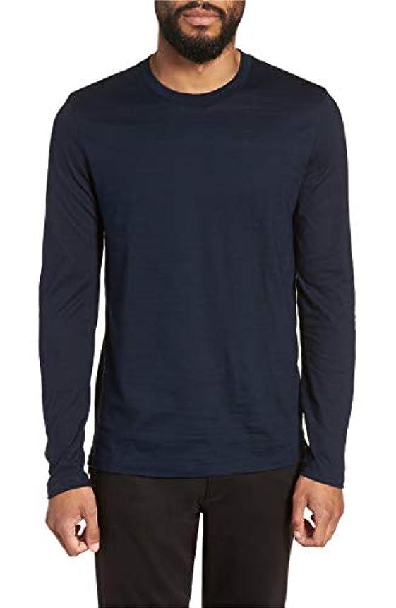 アロング雄弁家最大化する[ボス] メンズ シャツ BOSS Tenison Long Sleeve Crewneck T-Shir [並行輸入品]