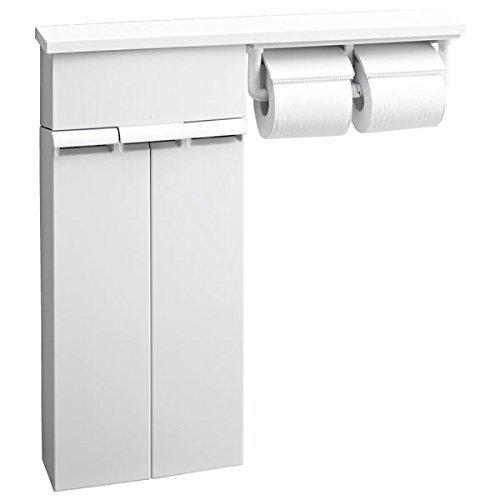 LIXIL(リクシル) INAX 壁付収納棚 トイレ用 紙巻...
