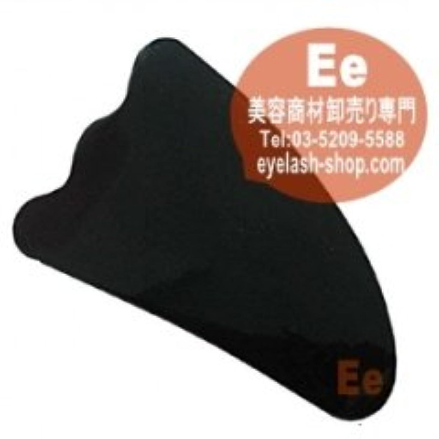 測定可能円形内側かっさ板 かっさプレート 美容マッサージかっさ板 グアシャ板 水牛の角 A-06