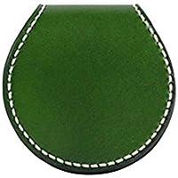 Genda 2Archer(JP) 可愛い 丸形 小銭入れ コインケース 手作り ハンドメイド レザー 本革 小型 個性的 レディース メンズ 7色 男女兼用