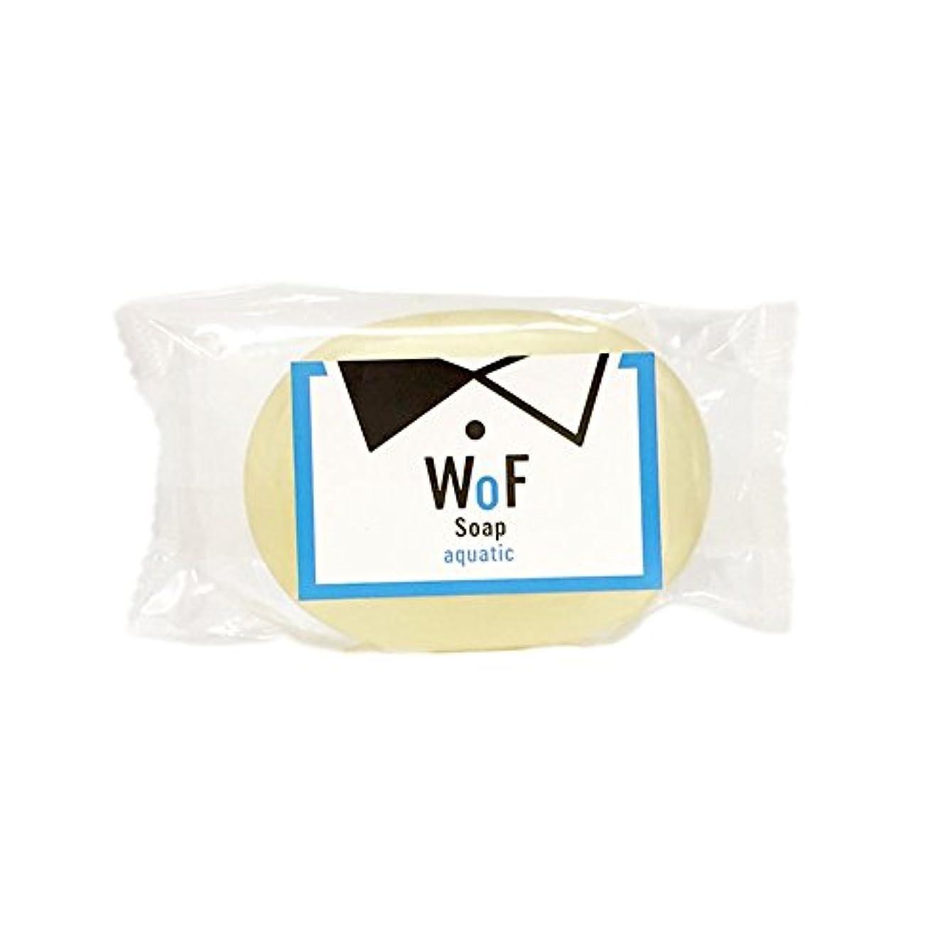香ばしい信条水族館WoF枠練りせっけん aquatic (85g)