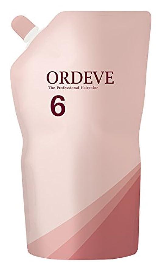 オン活性化クアッガORDEVE(オルディーブ) ヘアカラー 第2剤 OX(オキシダン) 6% 1000ml