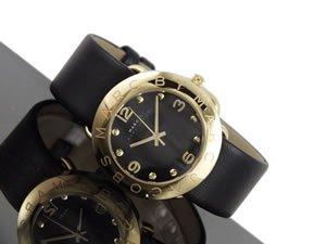 (マークバイマークジェイコブス) MARC BY MARC JACOBS 腕時計 Amy Strap Gold Black MBM1154 【並行輸入品】