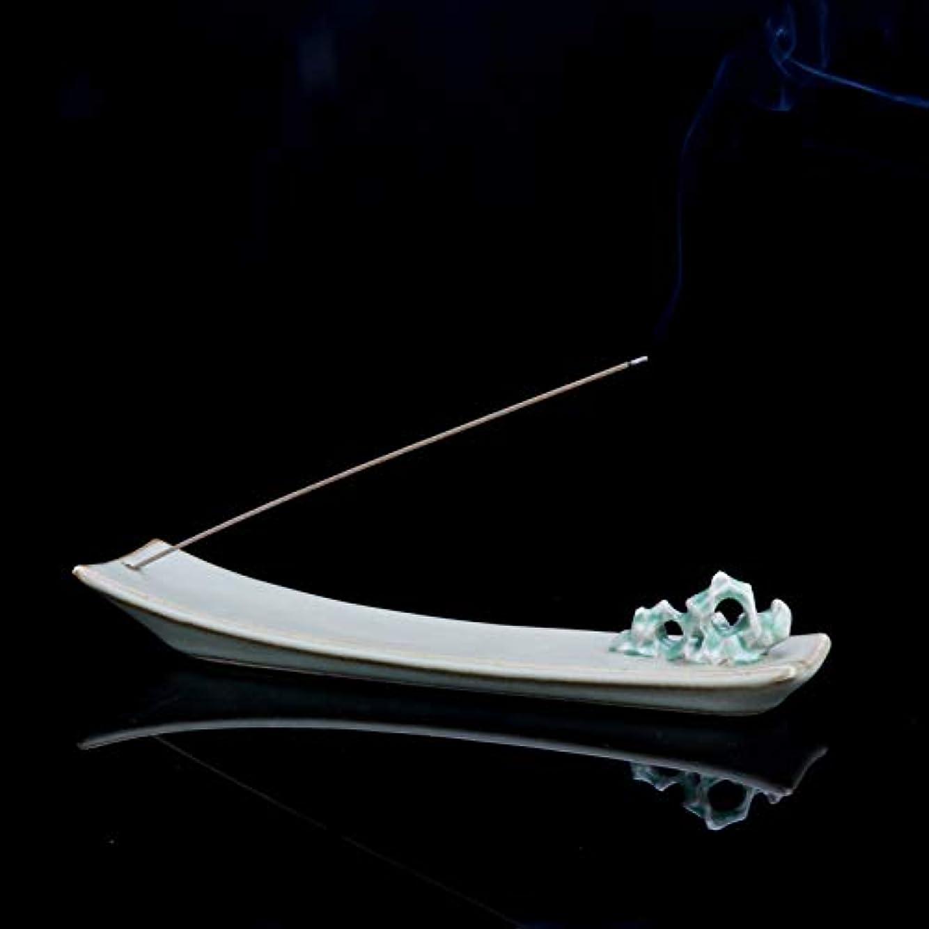 組み込む次留め金PHILOGOD 香炉 クリエイティブモデリング 仏壇用香置物 陶器 線香立て 香皿