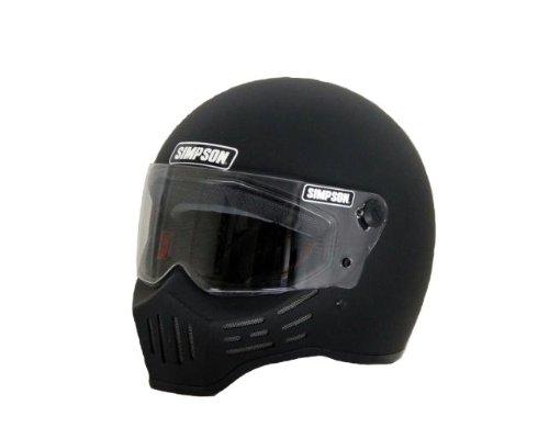 SIMPSON(シンプソン) バイクヘルメット フルフェイス Model30 マットブラック 60cm