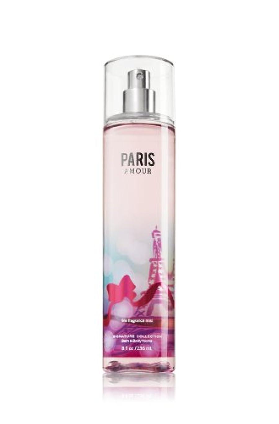 矢じりリールトランスペアレント【バス&ボディワークス】 Fine Fragrance Mist/ファインフレグランスミスト Paris Amour [並行輸入品]