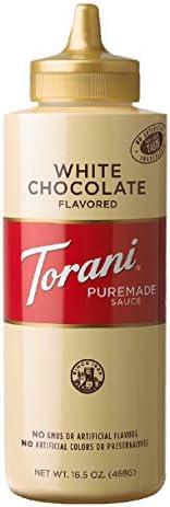 トラーニ ホワイトチョコレートソース 468g