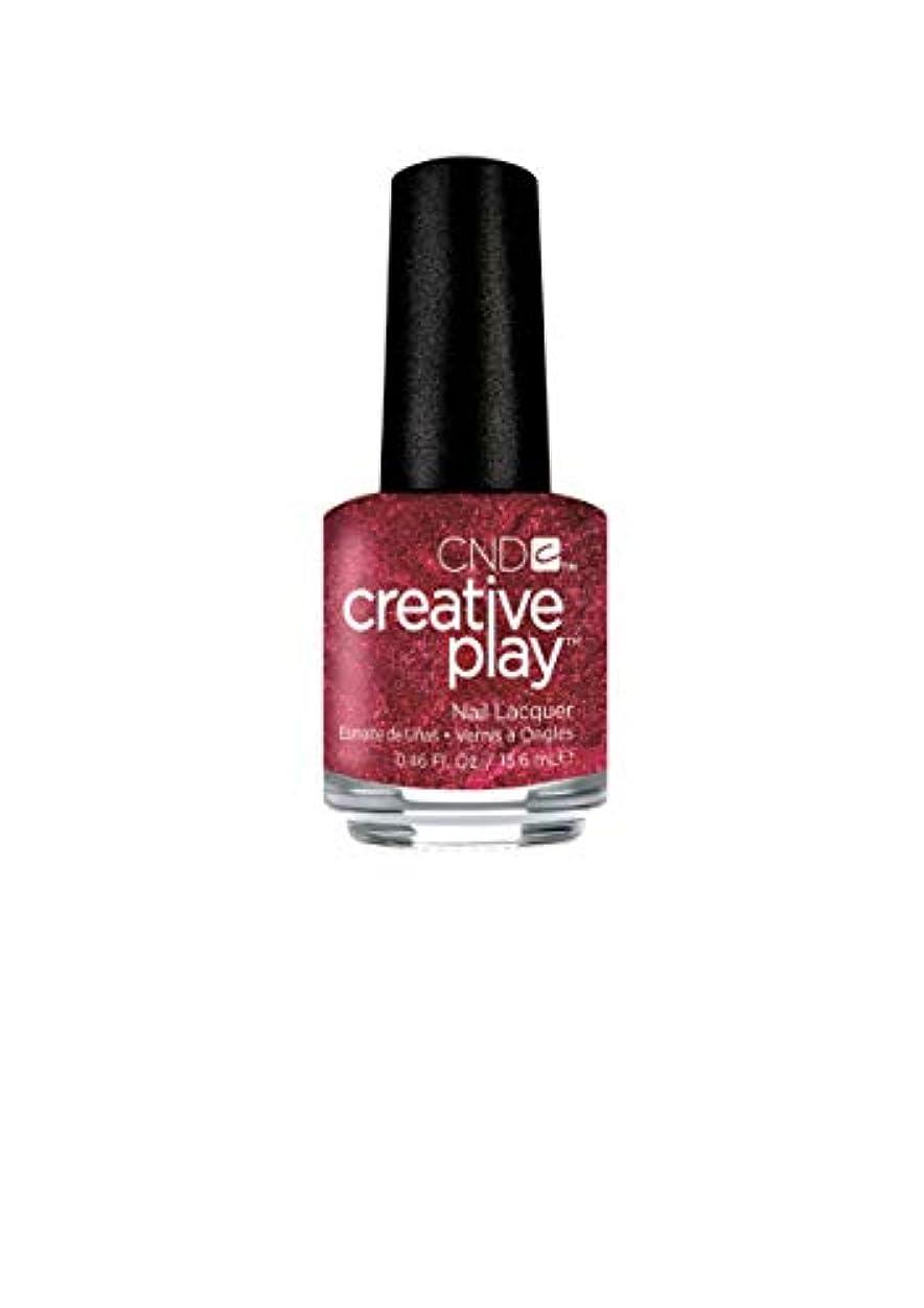 マウントバンク被害者上記の頭と肩CND Creative Play Lacquer - Crimson Like it Hot - 0.46oz / 13.6ml