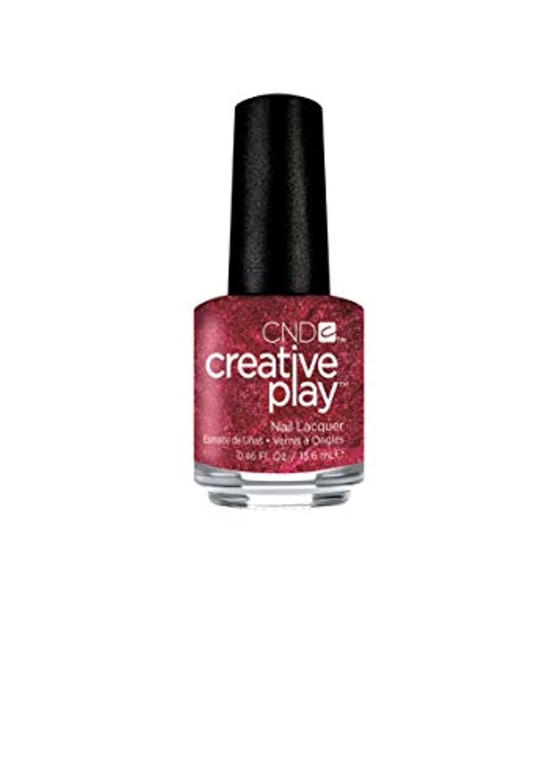 哲学的削る厄介なCND Creative Play Lacquer - Crimson Like it Hot - 0.46oz / 13.6ml