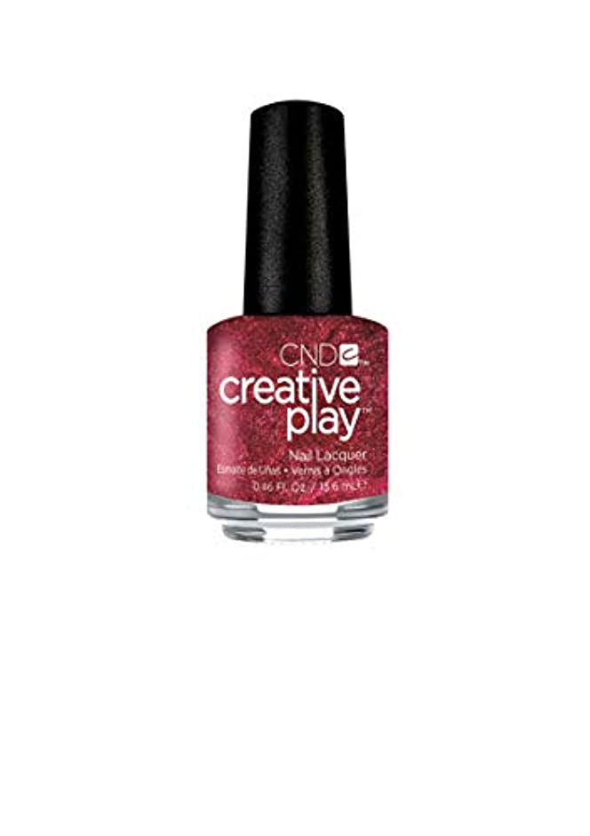 エキサイティング第二全くCND Creative Play Lacquer - Crimson Like it Hot - 0.46oz / 13.6ml