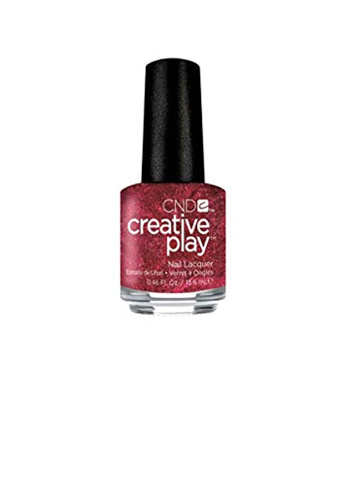 ウィンクバース深めるCND Creative Play Lacquer - Crimson Like it Hot - 0.46oz / 13.6ml