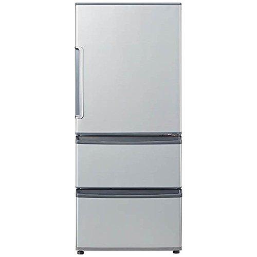アクア 272L 3ドア冷蔵庫 ミスティシルバー 【右開き】AQUA AQR-271F-S