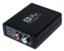 Digital to Analog オーディオ 変換 アダプター デジタル から アナログ への 変換器 (Simble 相性保証付き)