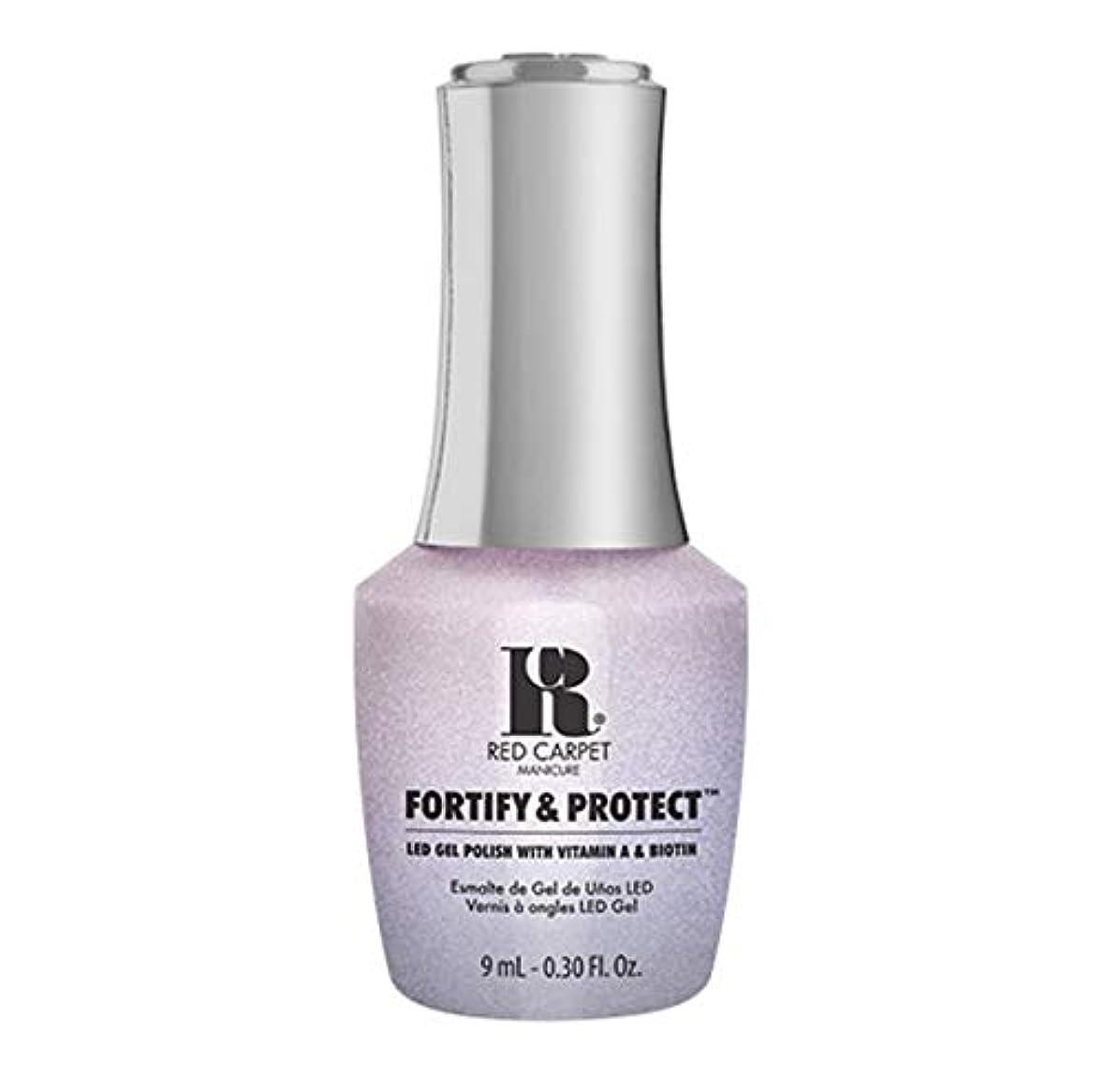 記念碑的な大学生水族館Red Carpet Manicure - Fortify & Protect - My Diamonds Sparkle - 9ml / 0.30oz