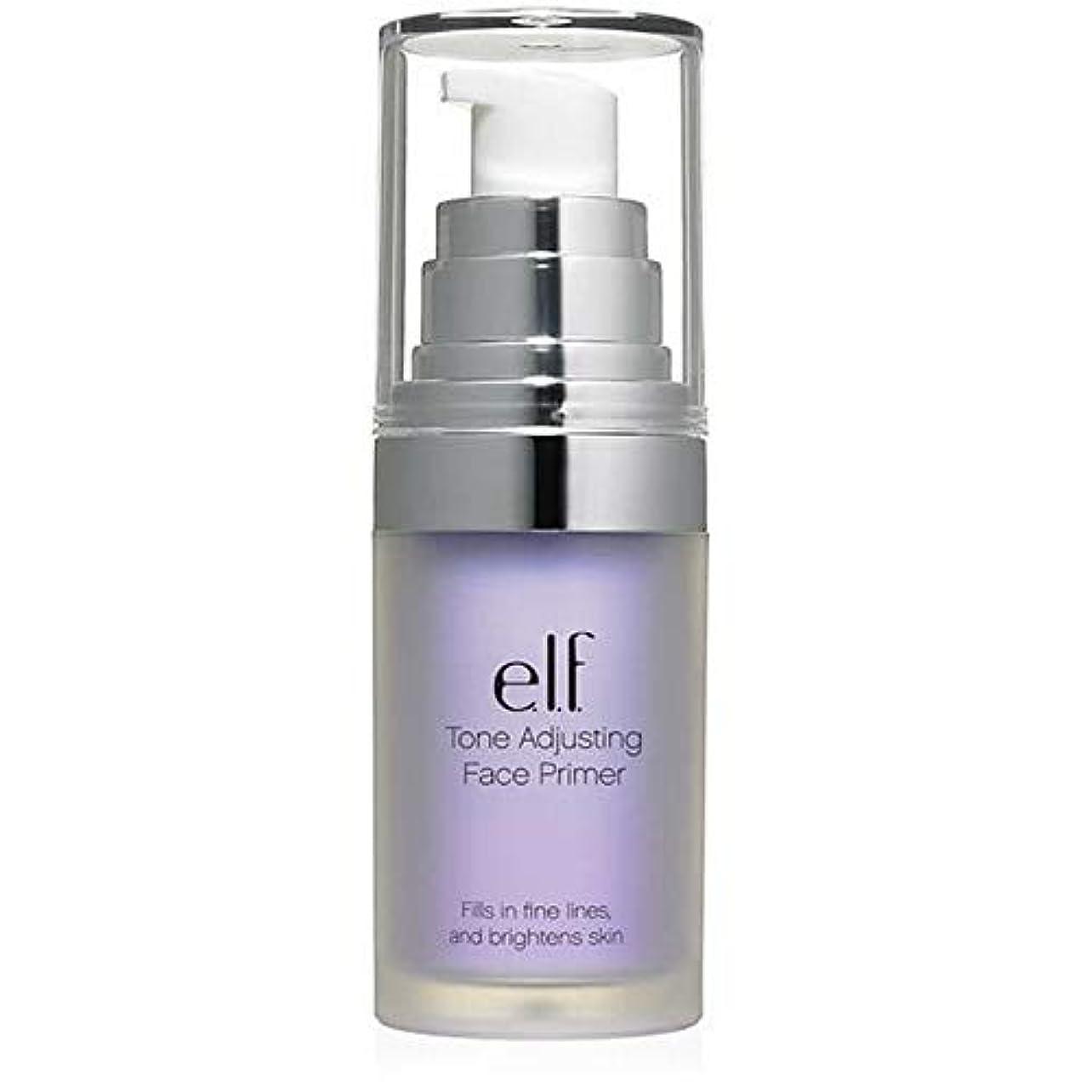 敵対的薬局入射[Elf ] エルフ。ラベンダー403を明るくトーン調整顔プライマー - e.l.f. Tone Adjusting Face Primer Brightening Lavender 403 [並行輸入品]