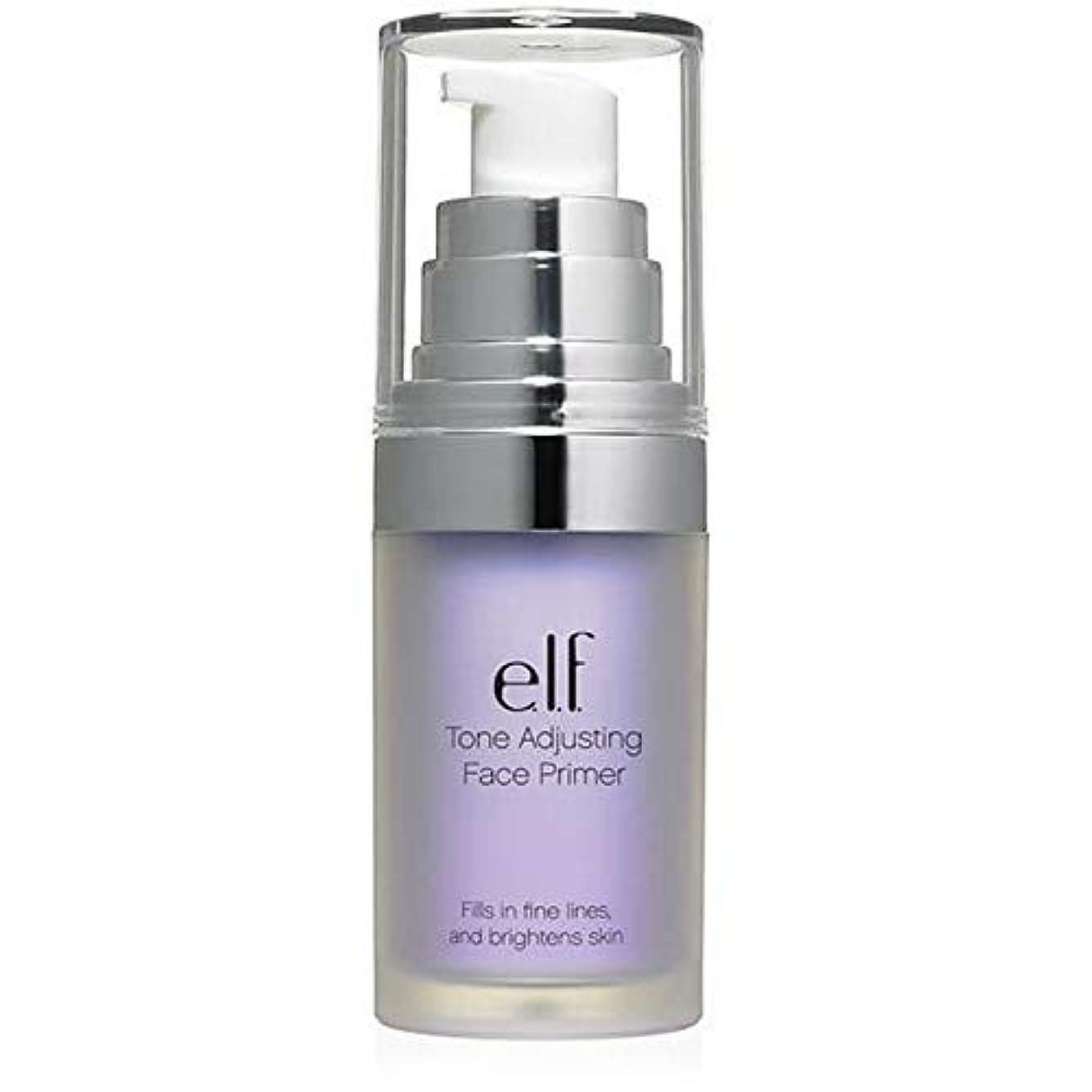 無効にするポイント給料[Elf ] エルフ。ラベンダー403を明るくトーン調整顔プライマー - e.l.f. Tone Adjusting Face Primer Brightening Lavender 403 [並行輸入品]